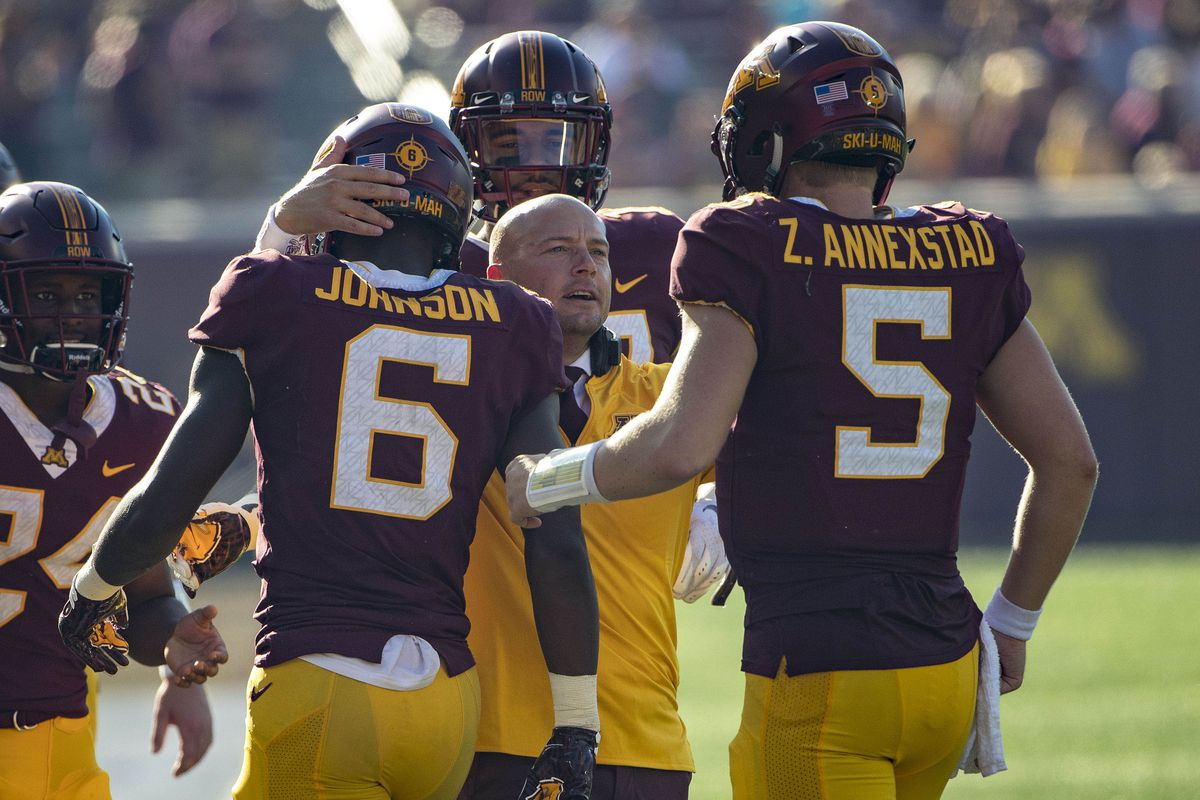 Minnesota Football S 2019 Projected Offensive Depth Chart