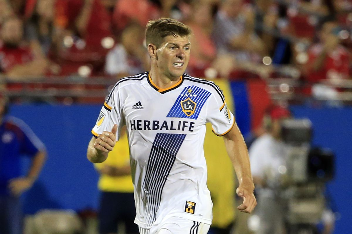 Steven Gerrard will be making his second appearance in Denver.
