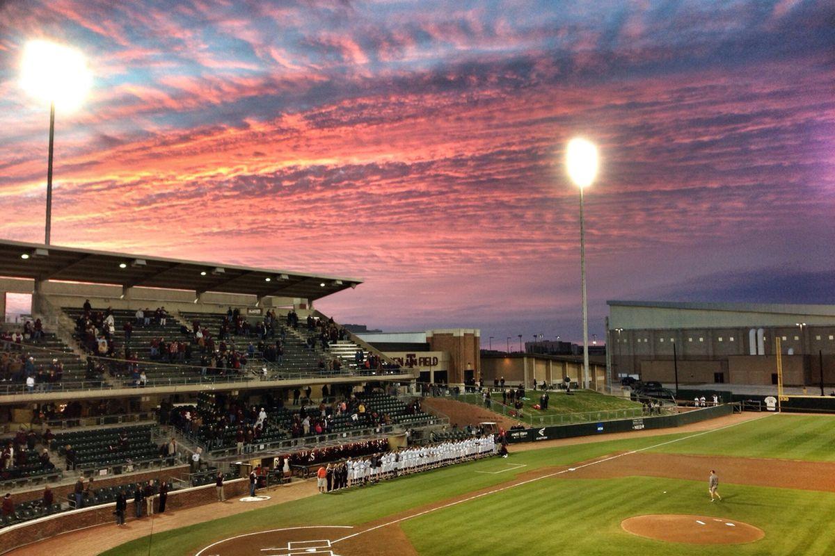 Olsen Field sunset