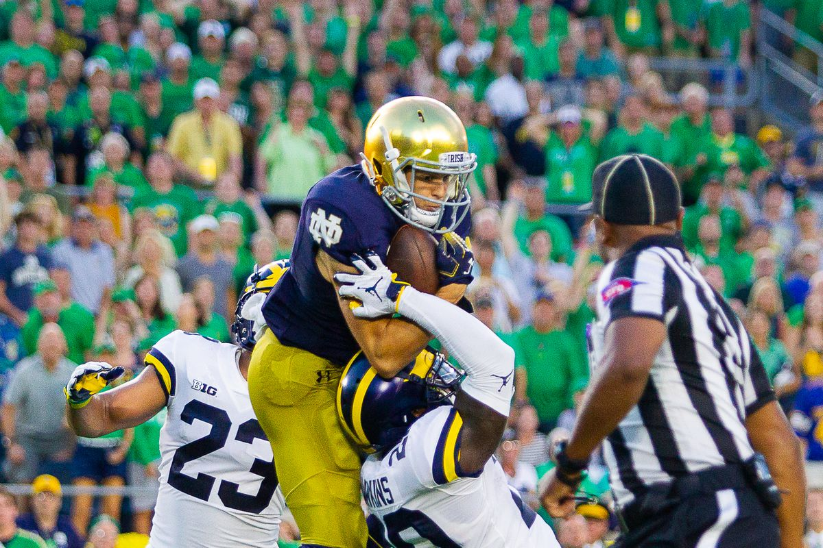 After parietals: Michigan got mossed by a future New England