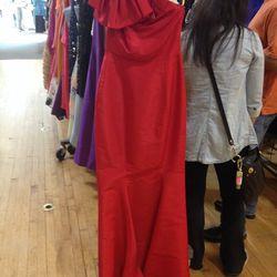 Carolina Herrera Red Kennedy Gown, $445