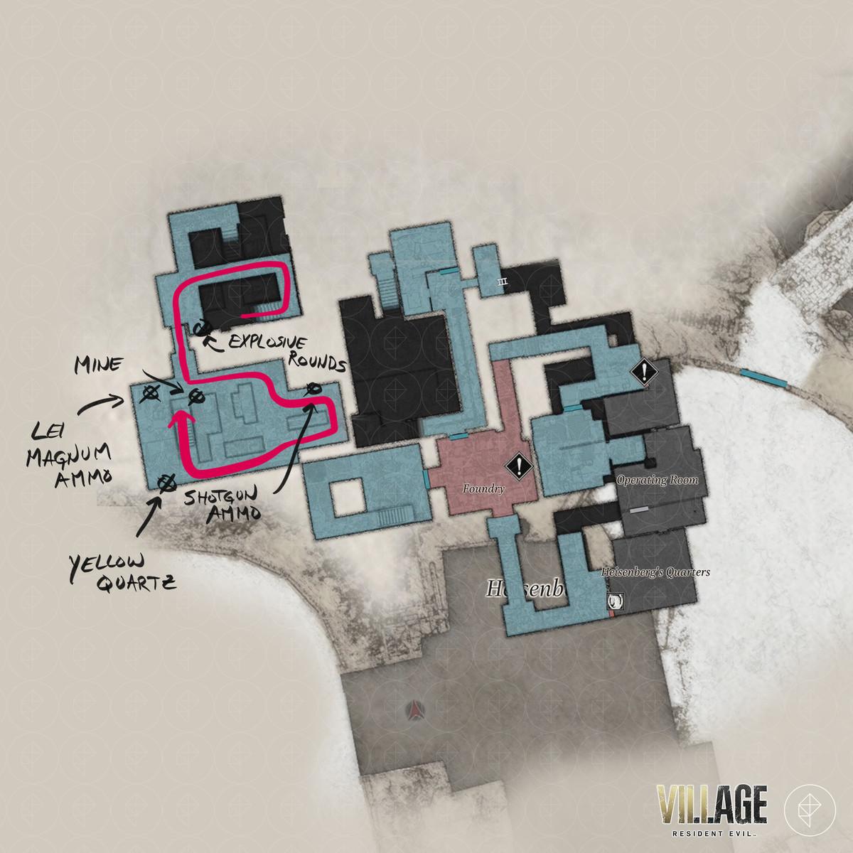 Resident Evil Village walkthrough part 14: Heisenberg's Factory