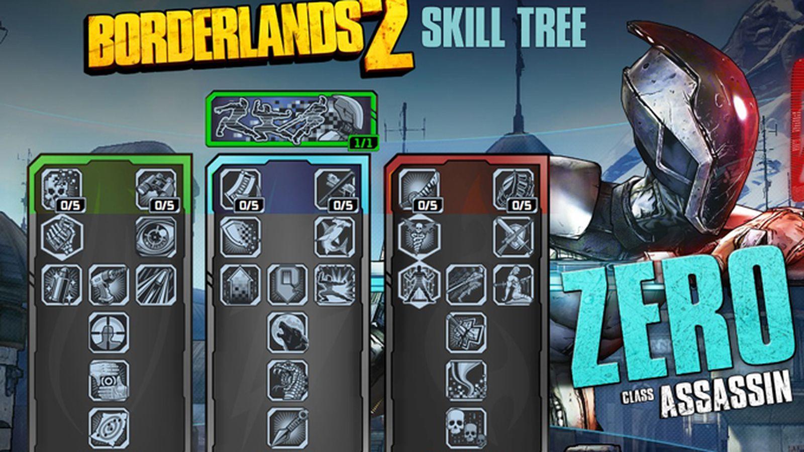 Assassin Skill Tree - Borderlands 2 Wiki Guide - IGN