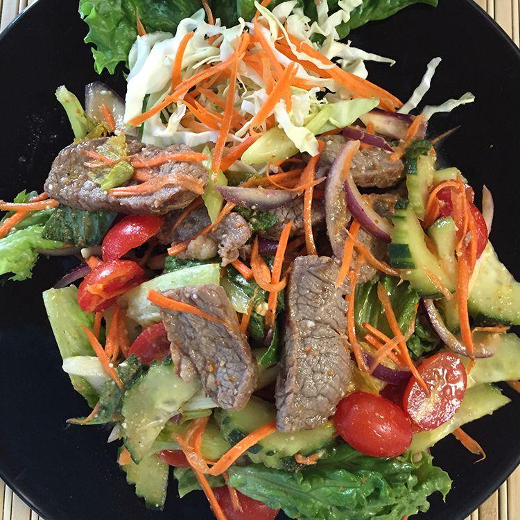 Mai Tong Thai's beef salad