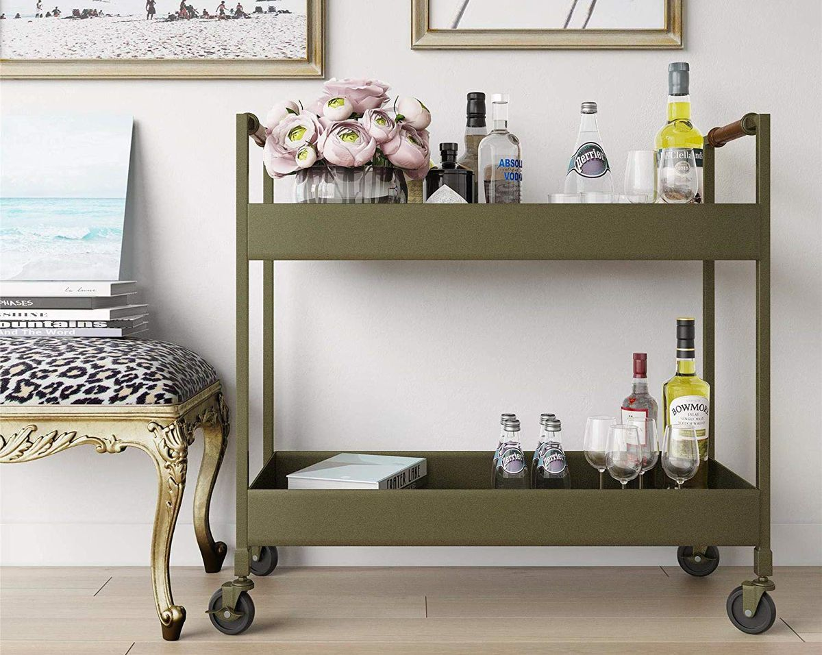 Bar Carts Affordable Ideas Under 150 Curbed