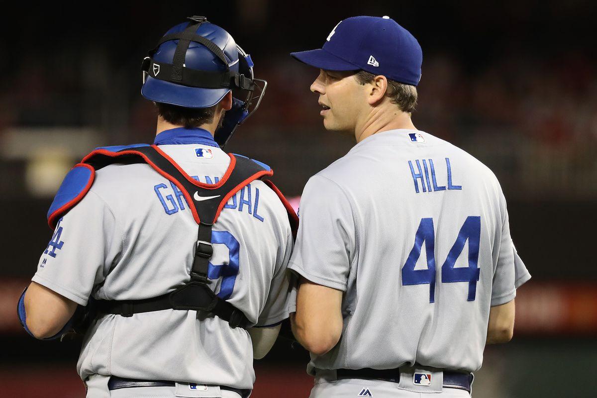 Division Series - Los Angeles Dodgers v Washington Nationals - Game Five