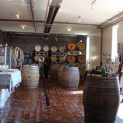 Red Hook Winery's facilities in Red Hook, Brooklyn.