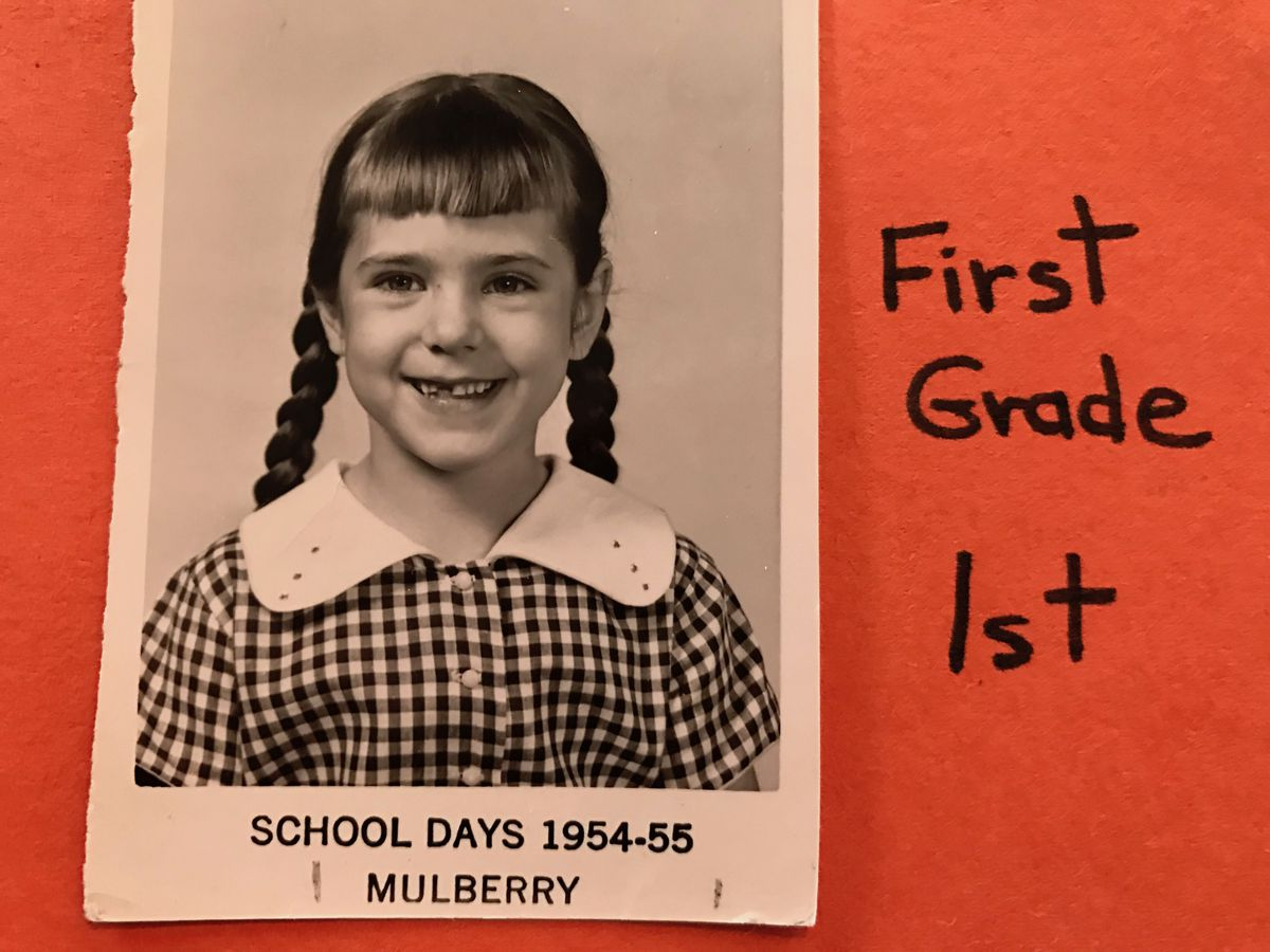 State Sen. Todd in the first grade.