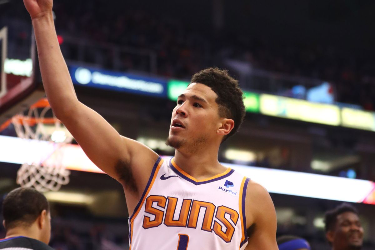 the latest fe3d7 b113c Devin Booker announces second annual youth basketball camp ...
