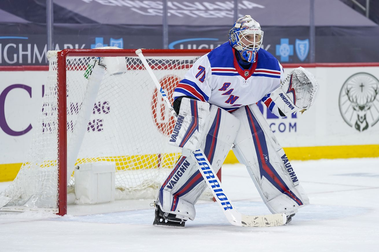 NHL: MAR 07 Rangers at Penguins