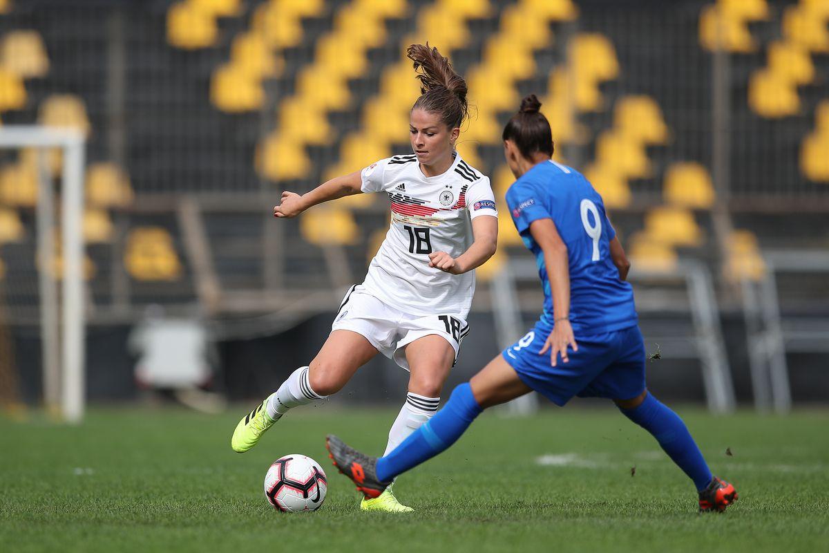 Greece v Germany - UEFA Women's European Championship 2021 Qualifier