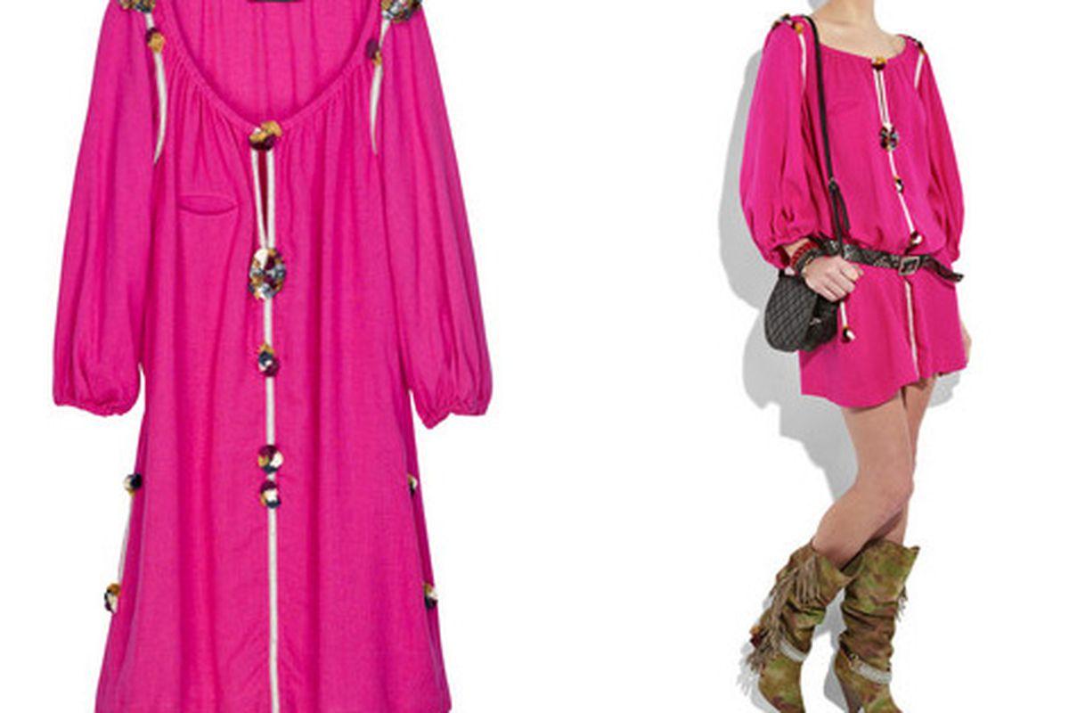 "Siena dress via <a href=""http://www.net-a-porter.com/product/76522"">Net-a-Porter</a>"