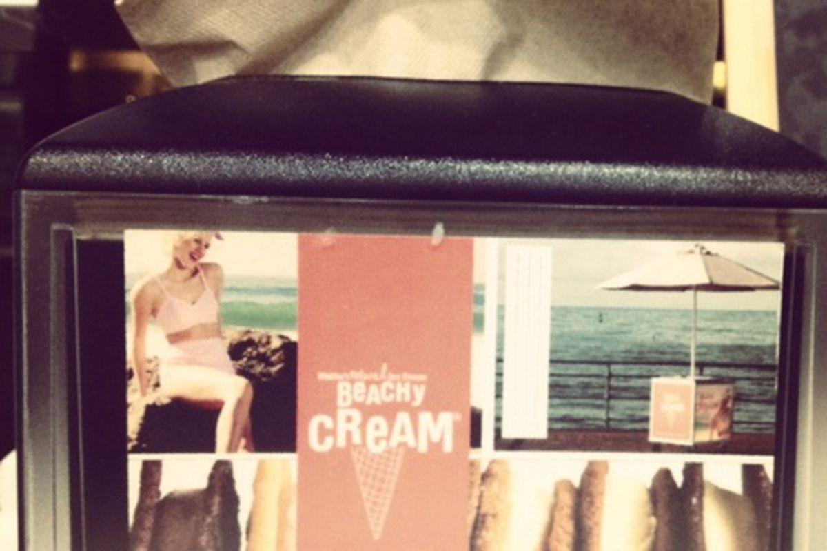 Beachy Cream, Santa Monica.