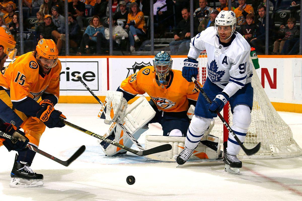Toronto Maple Leafs play best game in weeks; get shutout by Pekka Rinne