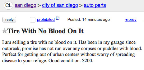 Craigslist Posts from a Post Ebola Outbreak Wasteland