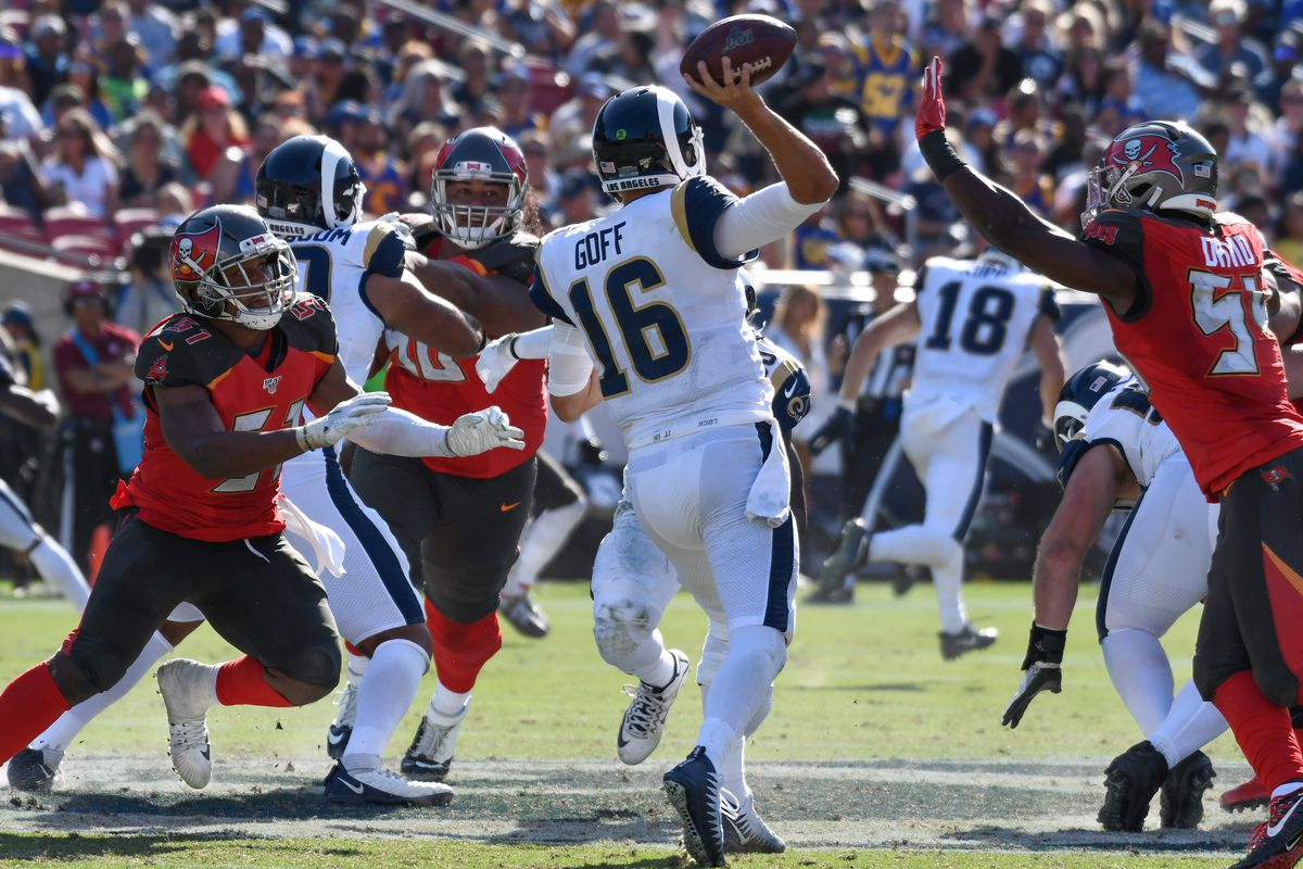 la rams versus tampa bay buccaneers matchups to watch revisited turf show times la rams versus tampa bay buccaneers