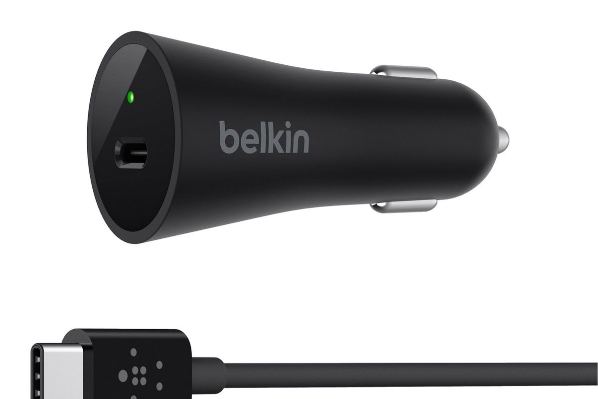 Belkin S New Usb C Car Charger Is 45 Because It Supports Usb Pd