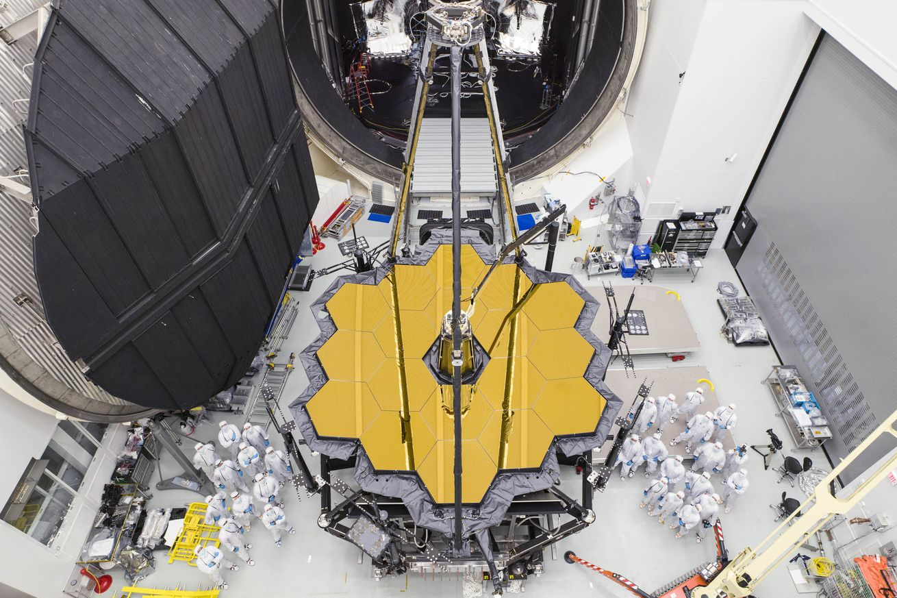 nasa s next big space telescope is out of its cryogenic testing chamber