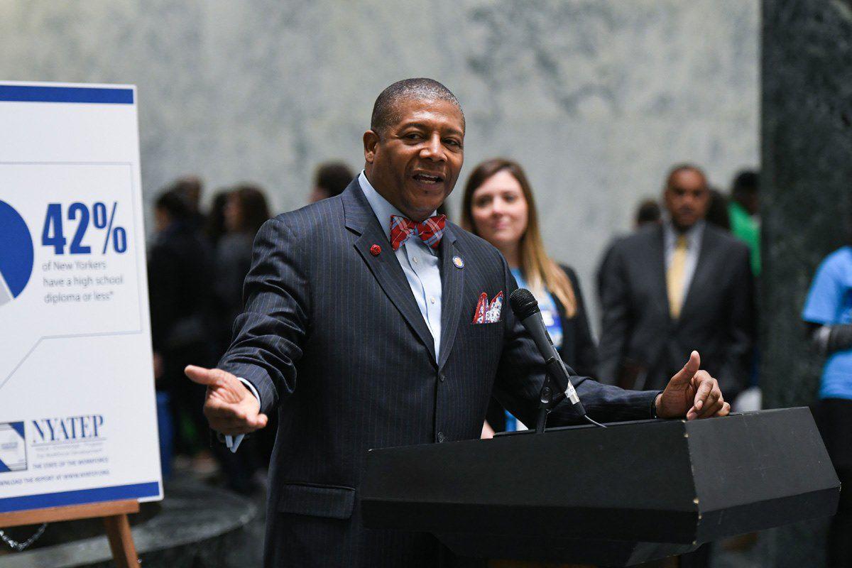 State Sen. James Sanders Jr. (D-Queens)
