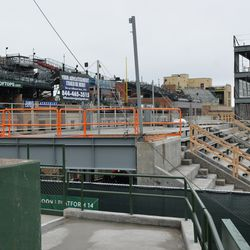 11:32 a.m. Another view of the right-field porch -