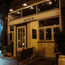 """<b>↑</b>Settle into the rustic wooden interior of <b><a href="""" http://thewrennyc.com/"""">The Wren</a></b> (344 Bowery), a gastropub with an authentic Irish/English feel. The brunch menu infuses classic UK dishes with healthy ingredients. Feast on a full Iri"""