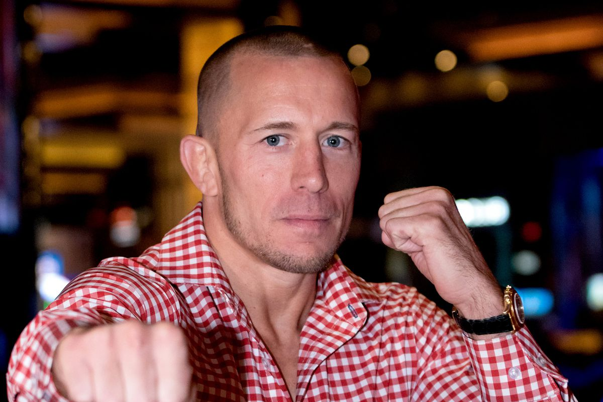 MMA: AUG 06 Georges St-Pierre Press Conference