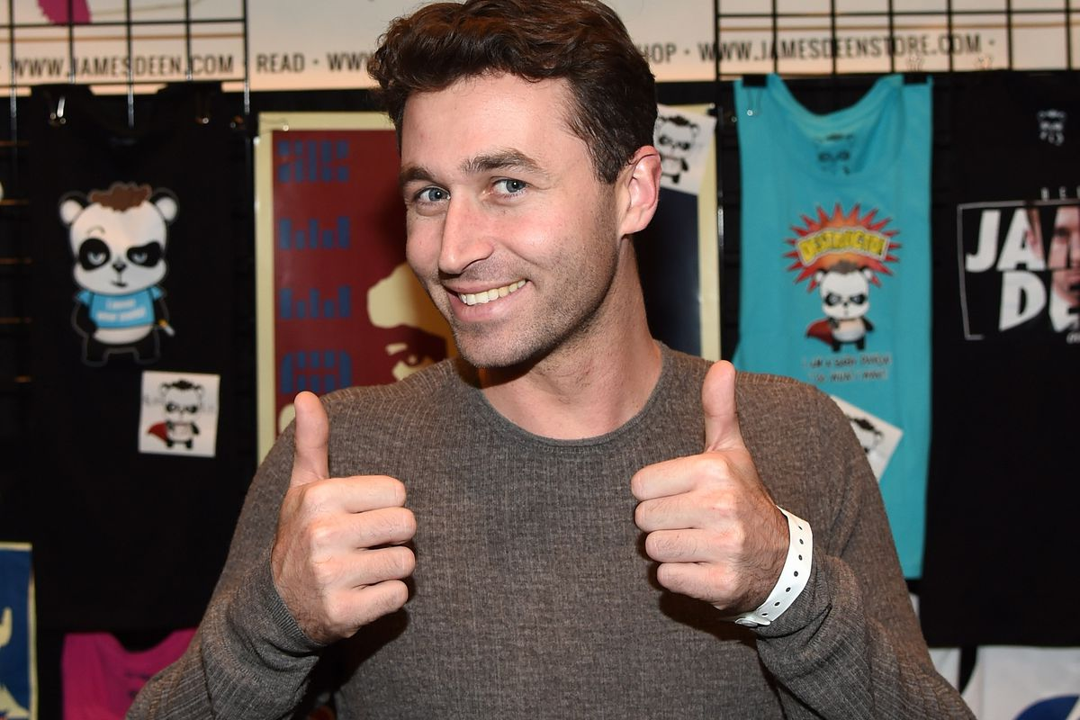 Adult film actor/director James Deen attends the 2015 AVN Adult Entertainment Expo at the Hard Rock Hotel & Casino on January 22, 2015, in Las Vegas, Nevada.