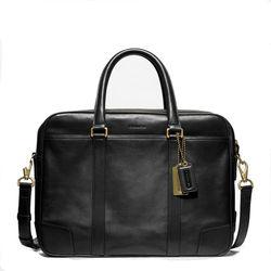 "<a href=""http://www.coach.com/online/handbags/ProductDetailWrapperView?storeId=10551&catalogId=10051&langId=-1&partNumber=70777_blk&cid=D_B_RAC_2959"">Bleecker Leather Commuter</a> in black, $568"