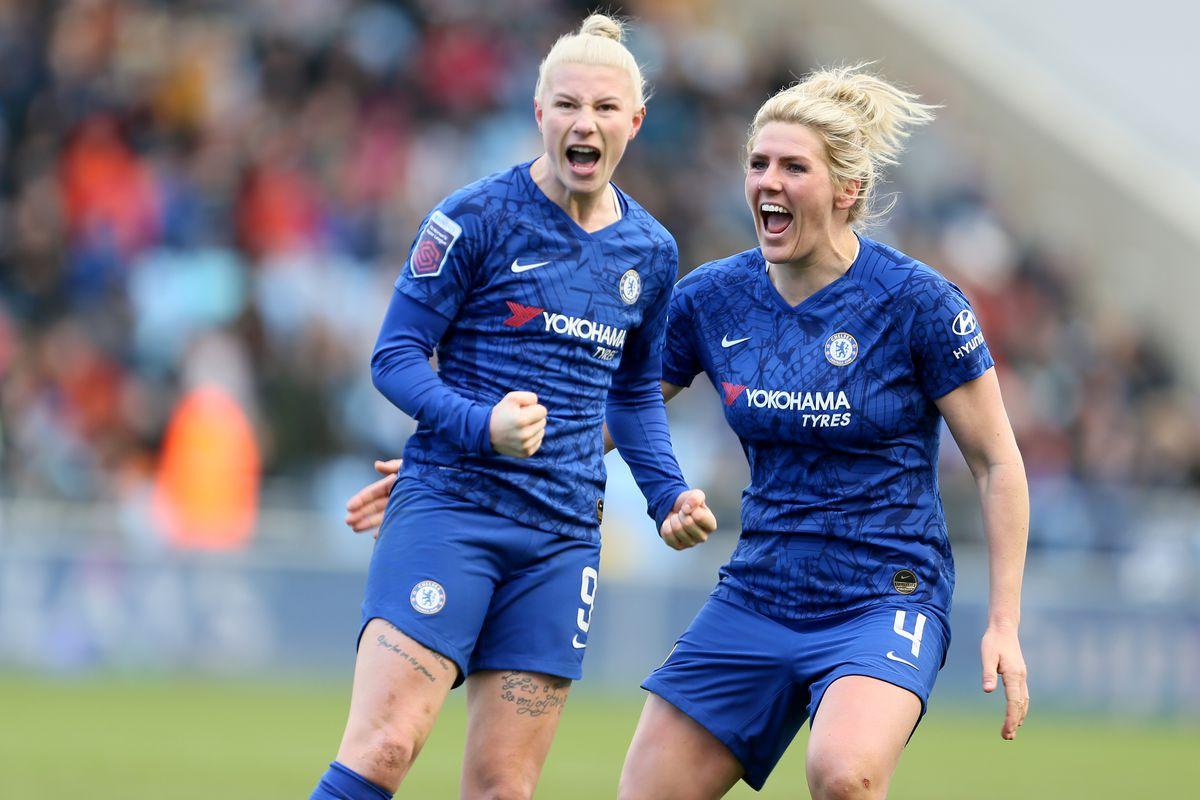 Manchester City v Chelsea - Women's Super League - Academy Stadium