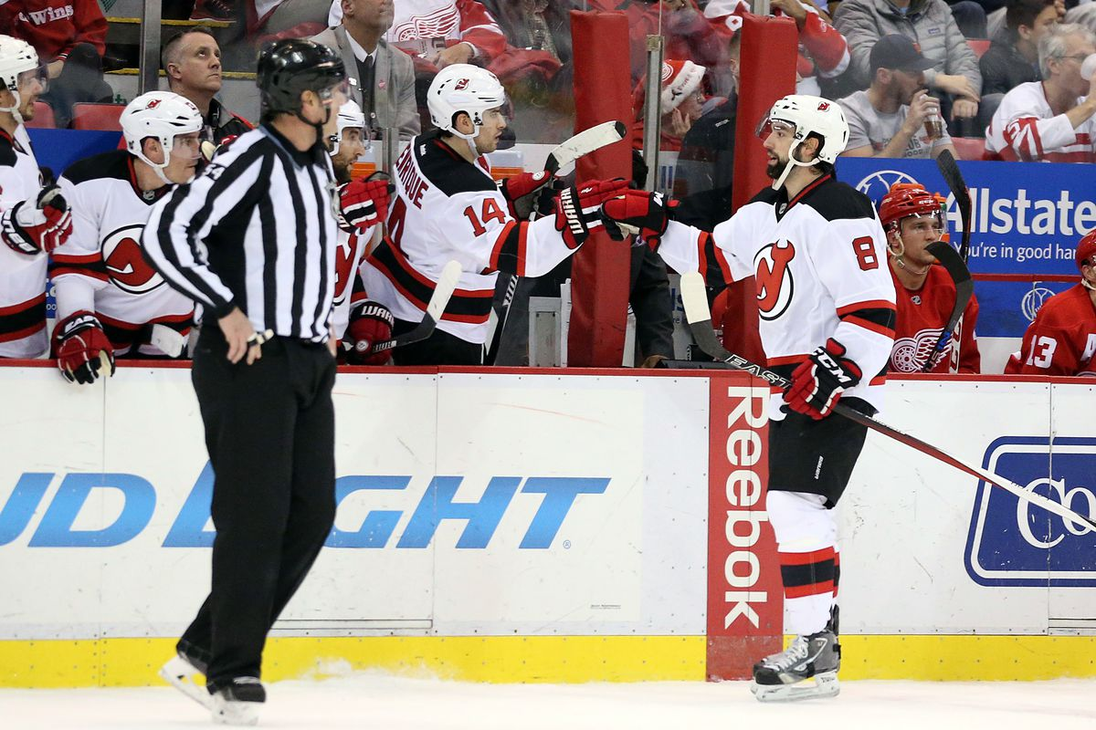 All of these celebrations for goals and wins have put the Devils in a far better position than I expected prior to the start of the 2015-16 season.