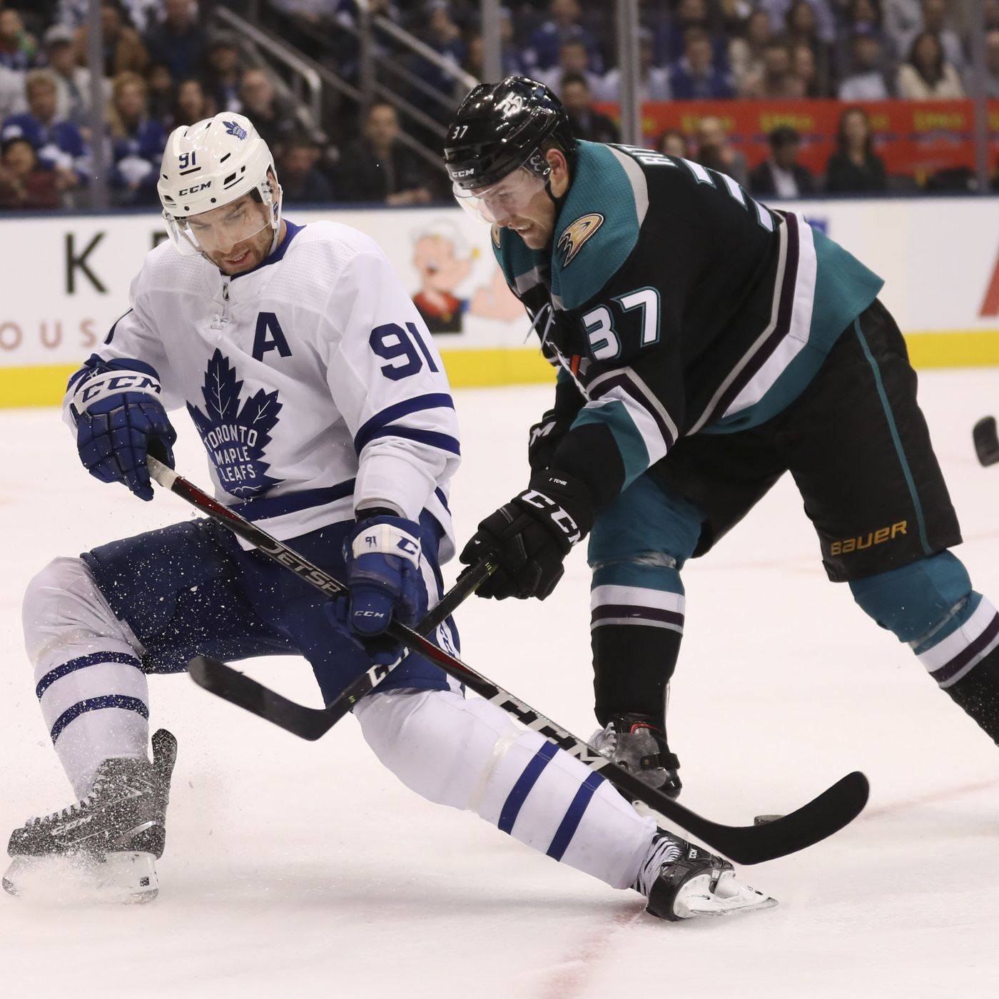 Ducks Maple Leafs Gamethread Spoiler Alert Anaheim Calling