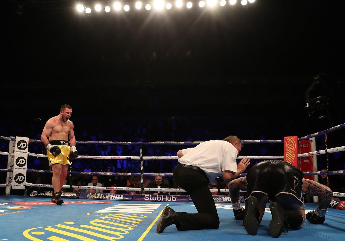 Boxing at the o2 Arena