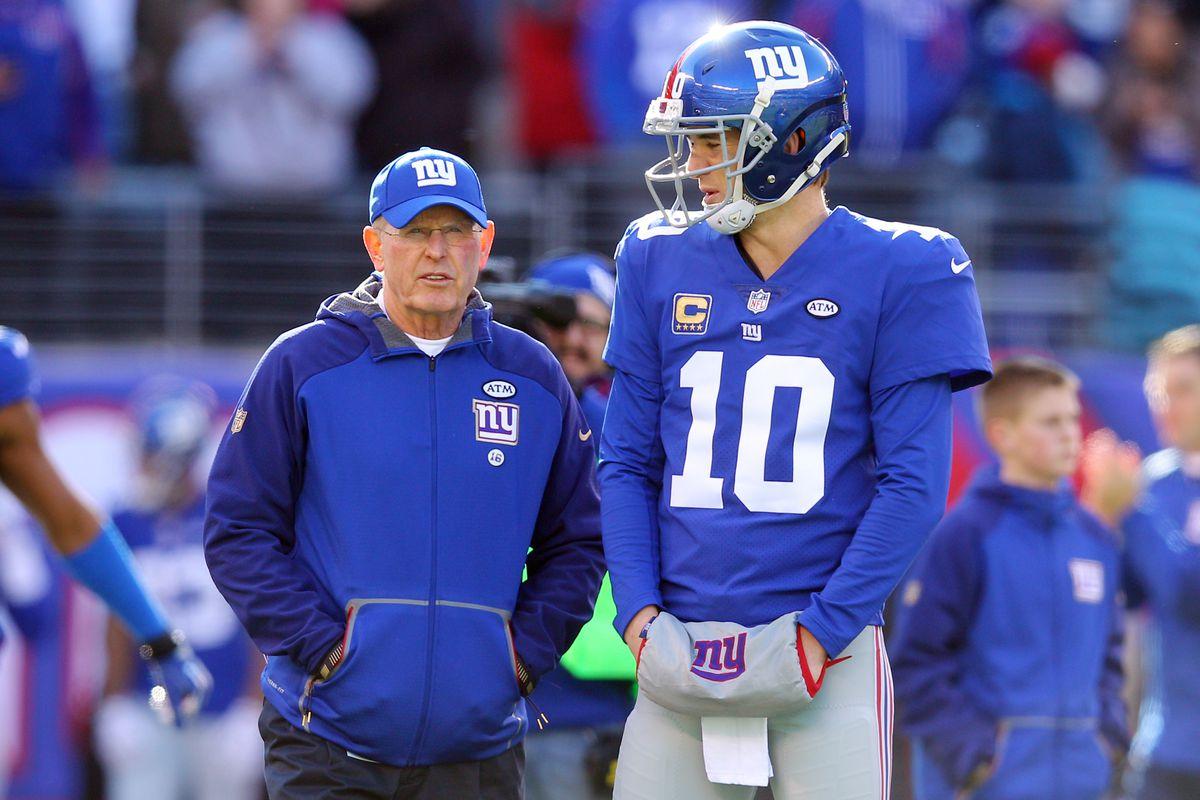 Should Jaguars Tom Coughlin try to trade for Giants Eli Manning