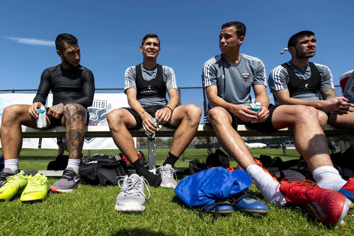 MLS: D.C. United Training