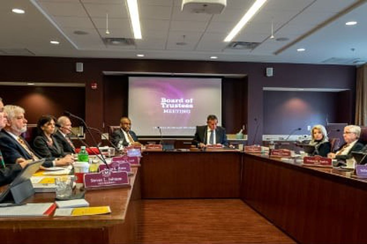 The Board of Trustees for Central Michigan University make decisions on authorizations.