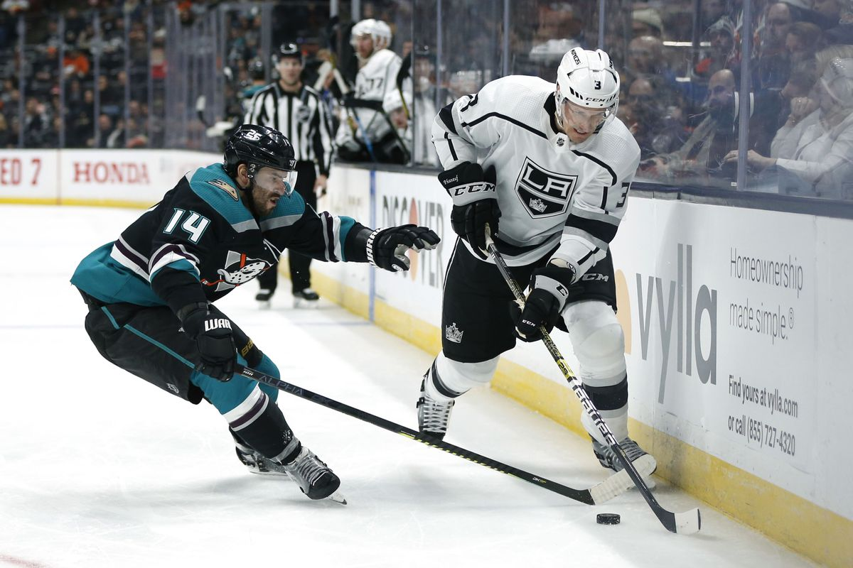 Game Day Preview 81 Los Angeles Kings Anaheim Ducks Jewels