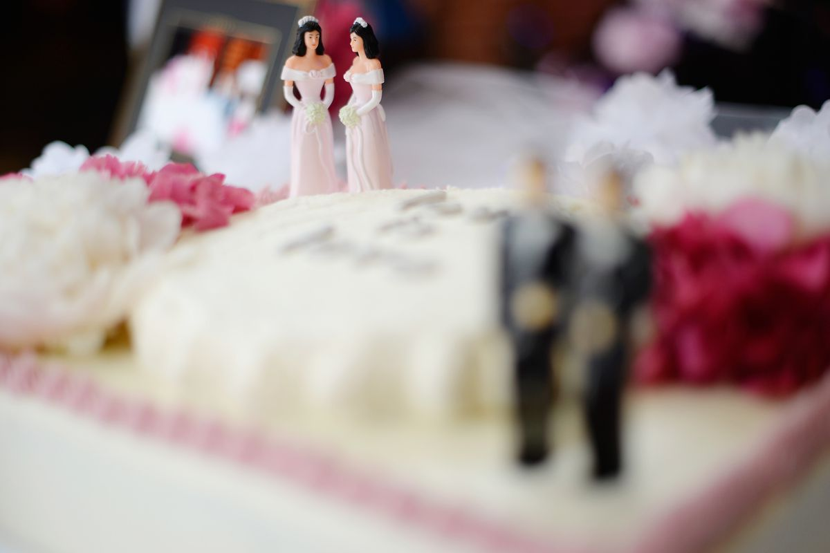 gay couple denied wedding cake oregon bakery that wouldn t bake a cake for same 14656