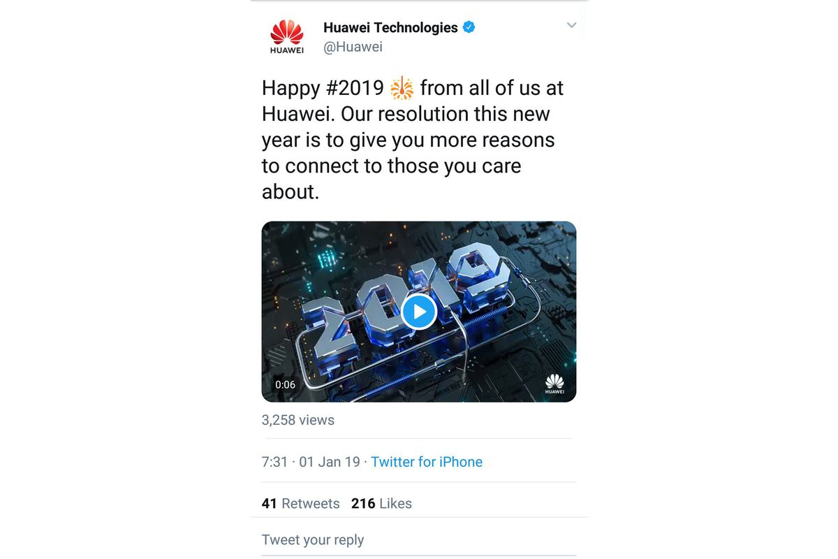 c488a5ffc62 Huawei demotes and docks pay of 2 employees after tweeting from ...
