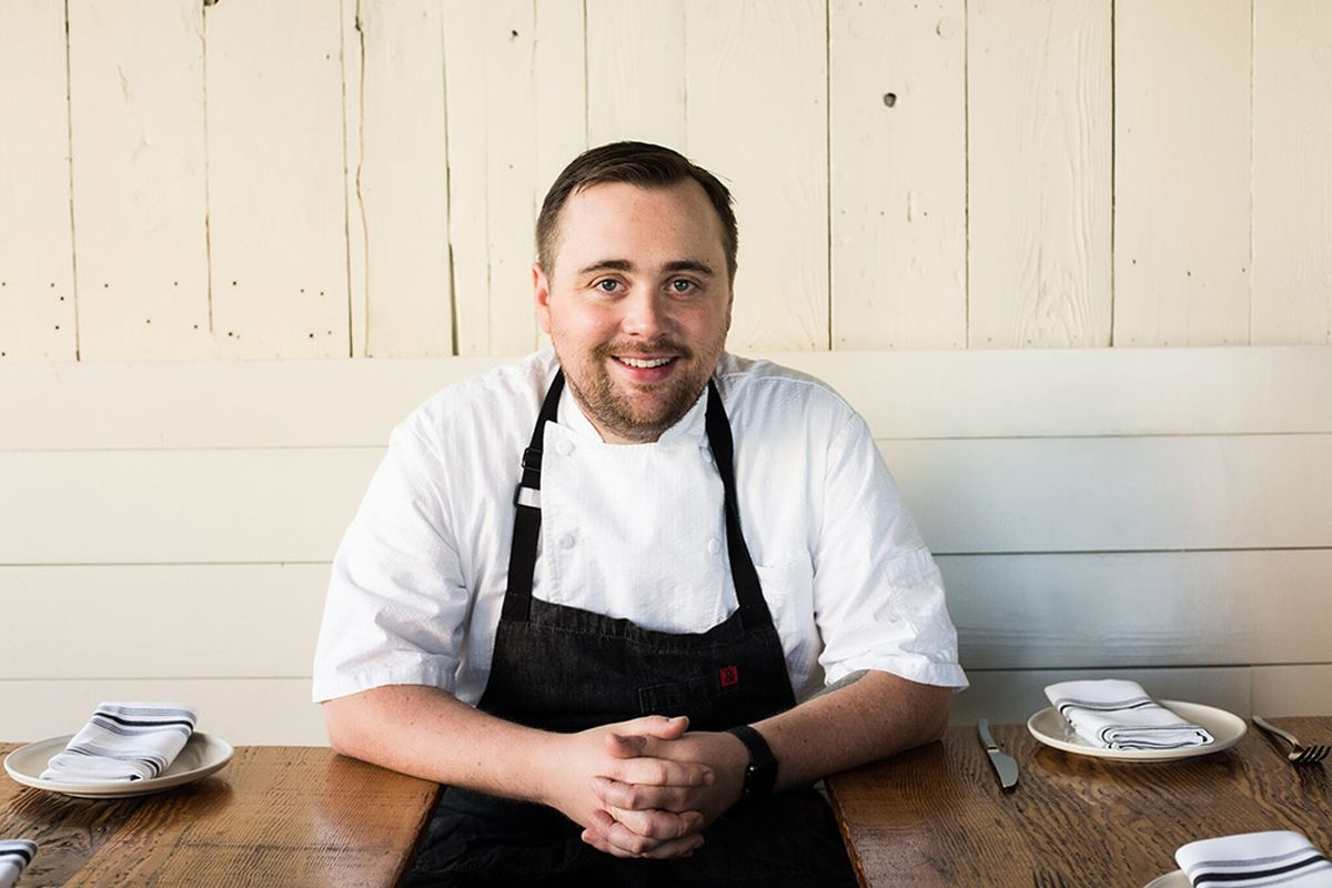 Chef Brandon Rice at Ernest