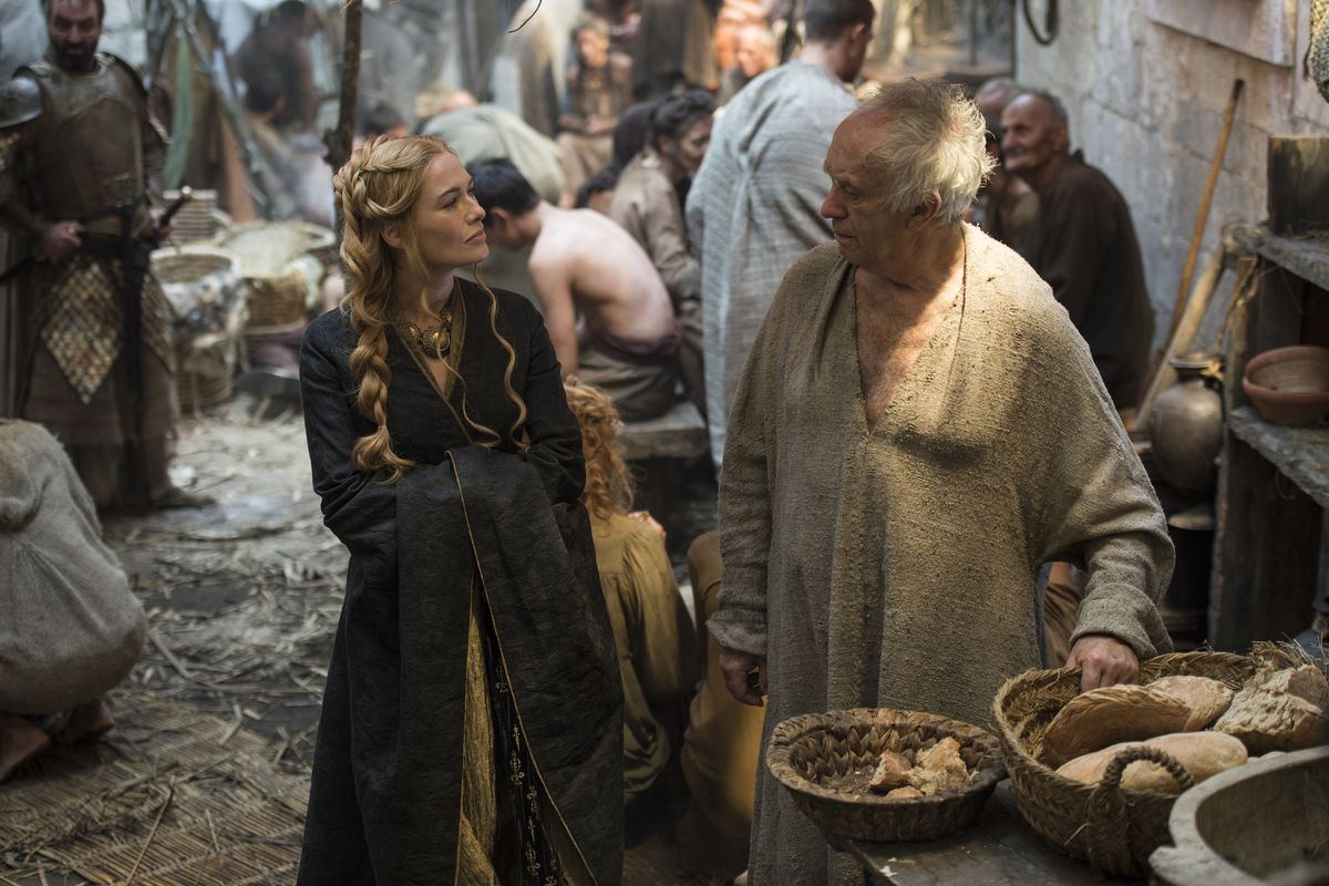 Cersei and the High Sparrow make unlikely pals.