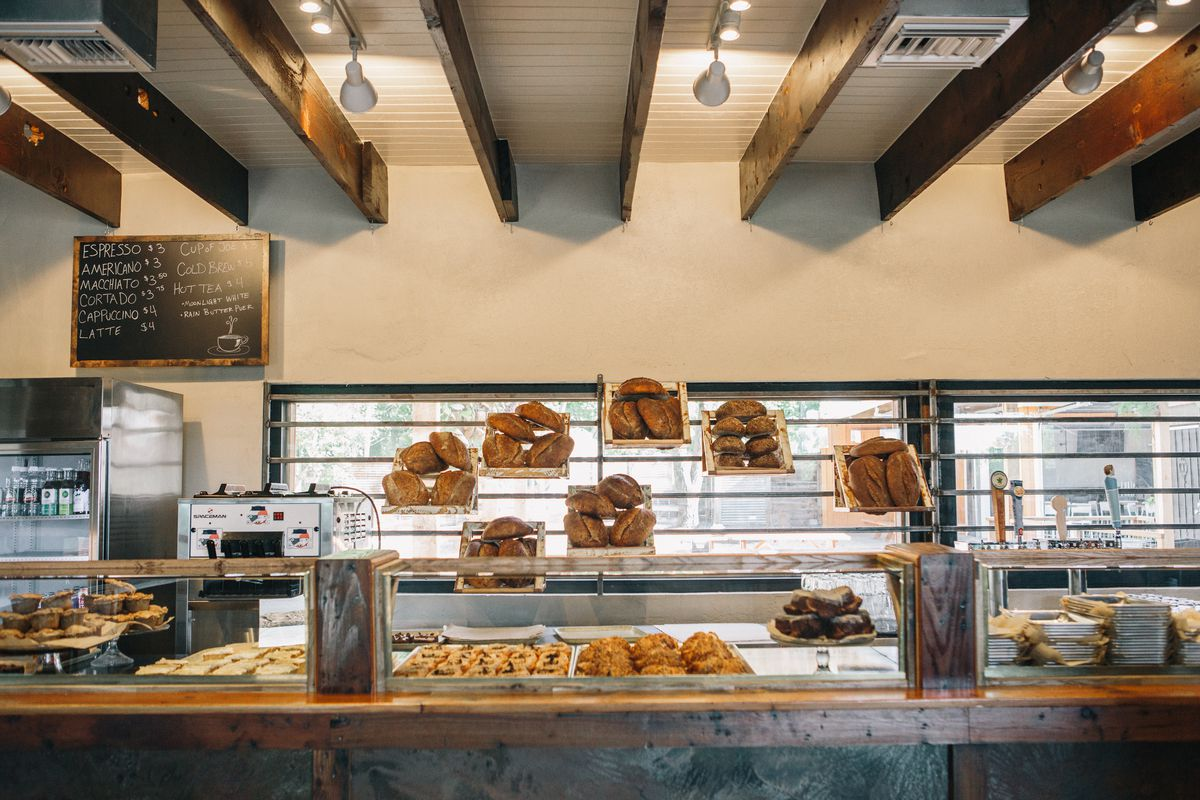 The counter at Sour Duck