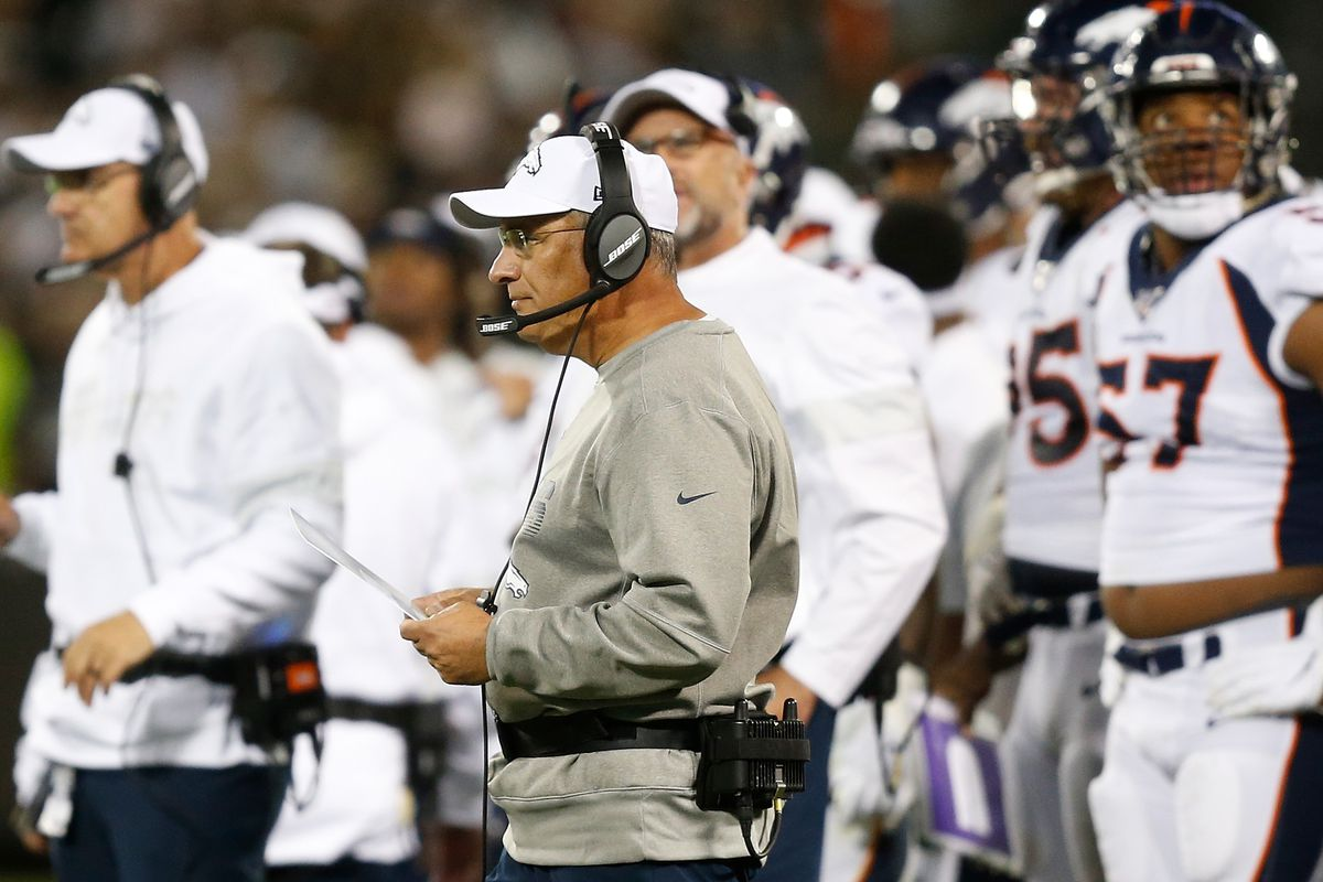 He has a new job with the Broncos, but it's same old Vic Fangio