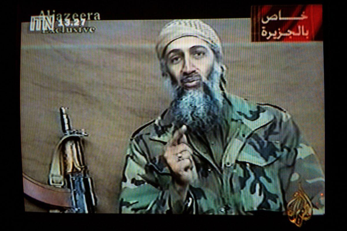 Osama bin Laden in 2001.