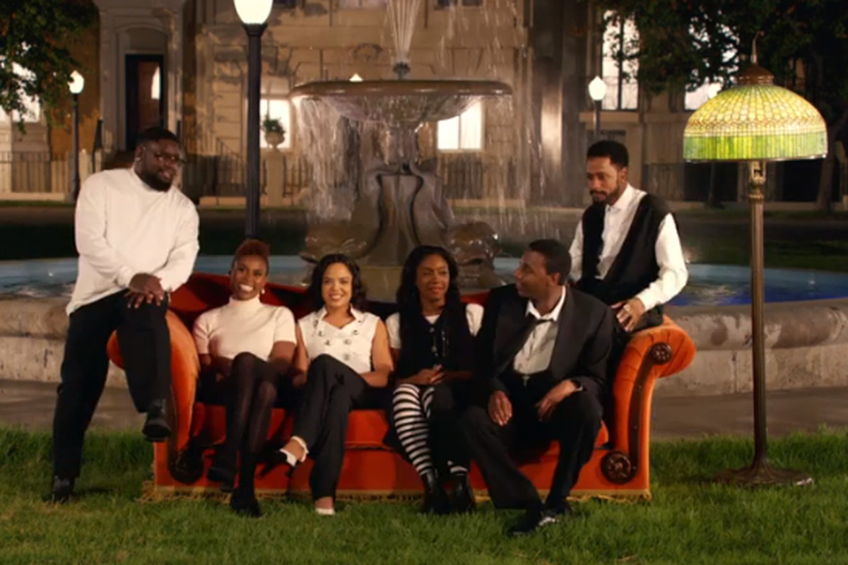 Z Reimagines 'Friends' With an All-Star All-Black Cast in 'Moonlight' Video
