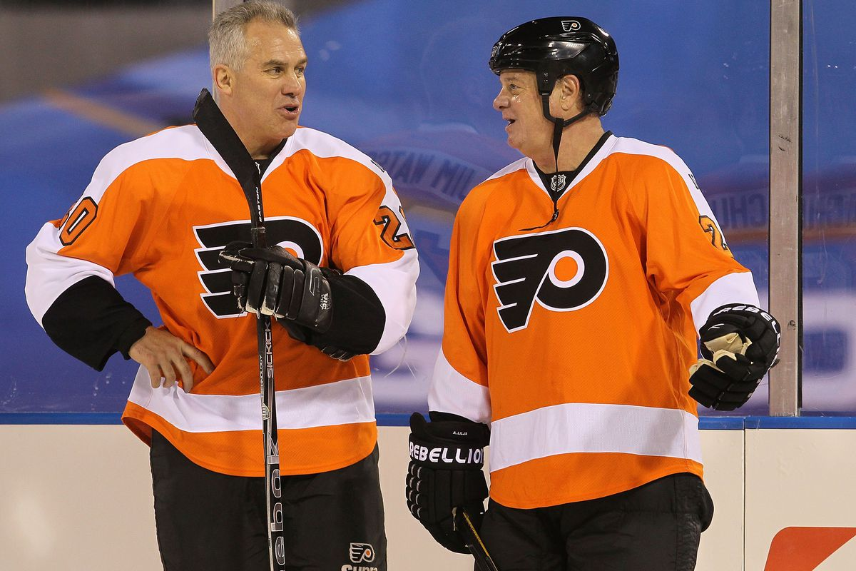 bb9115fb8 Chatting with former Philadelphia Flyers Brian Propp and Tim Kerr on ...