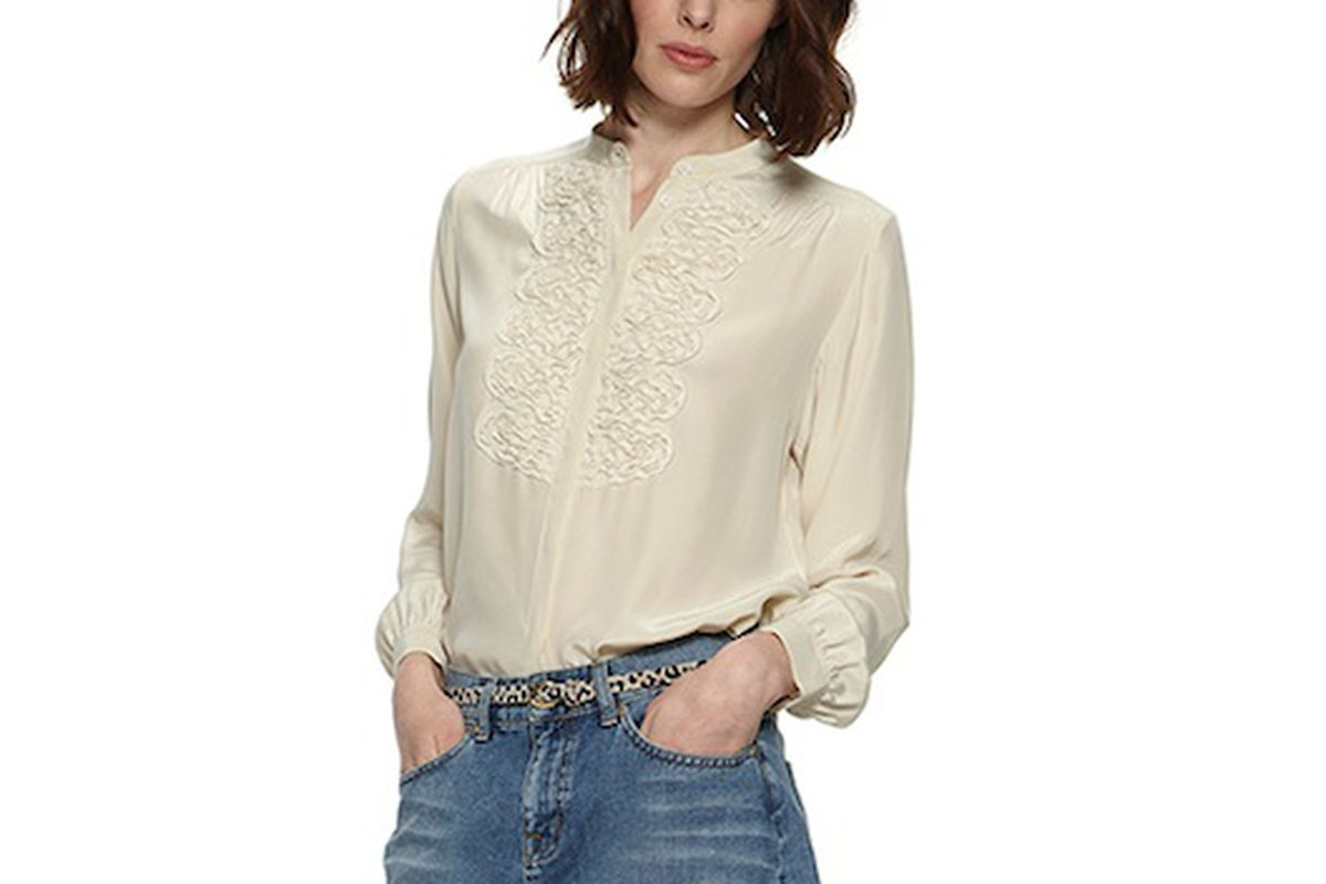 """The Kate blouse, via <a href=""""http://www.whistles.co.uk/fcp/categorylist/dept/shop?resetFilters=true#ID=id_903000056424_tops&amp;category=tops"""">Whistles</a>"""
