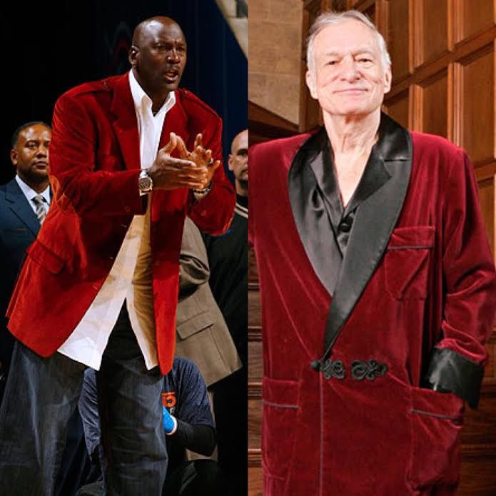 febd259a088 ... Hugh Hefner may wear the same jacket, but even he knows not to leave the
