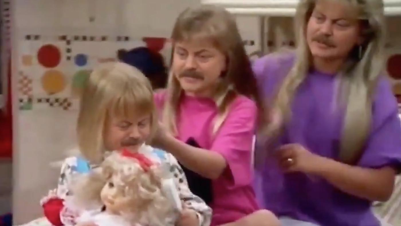 Someone Put Nick Offerman's Face On Every 'Full House' Character, I'm Out