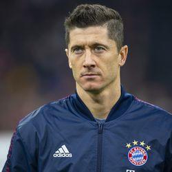 Bayern's walkout jacket has a similar look to next season's (potential) third kit.