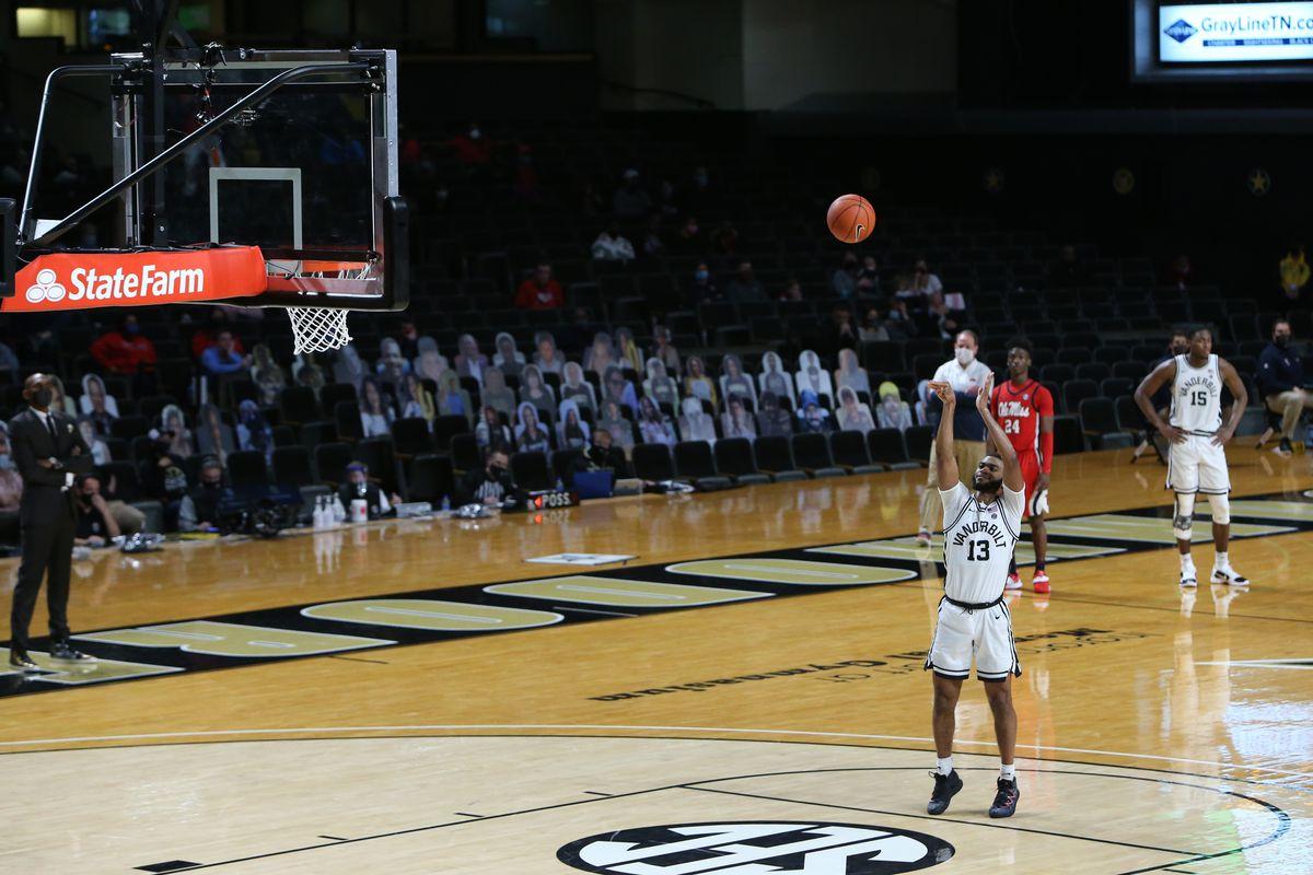 COLLEGE BASKETBALL: FEB 27 Ole Miss at Vanderbilt